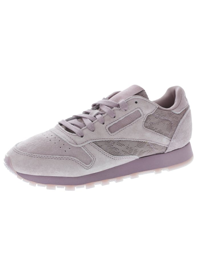 07e8c26942686 Reebok Women s CL Leather Lace Purple Purple