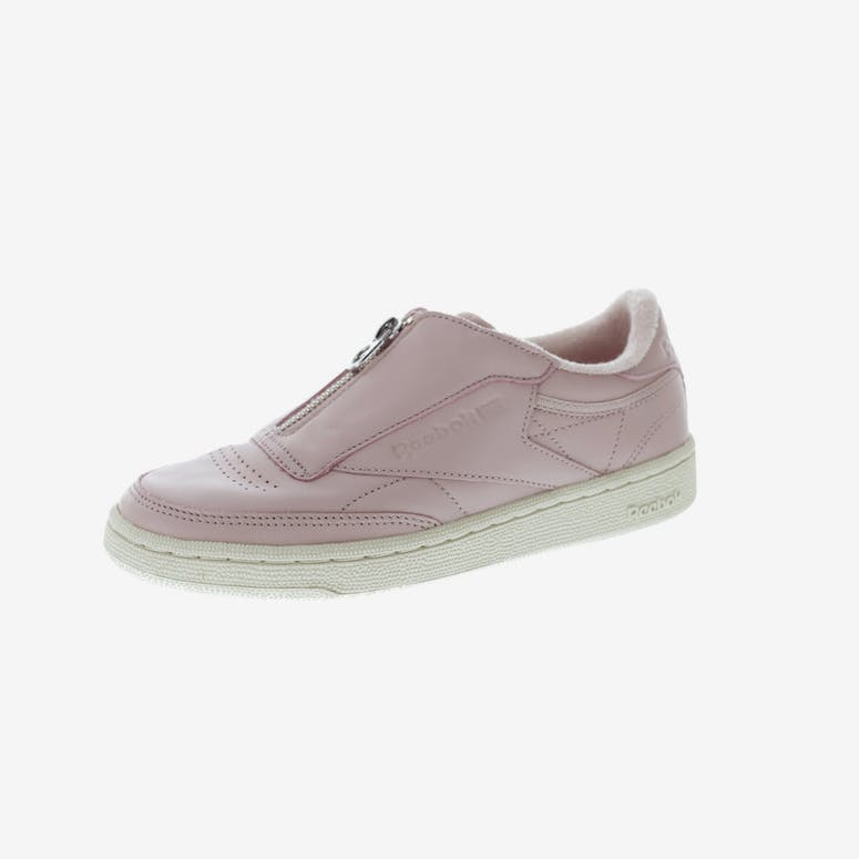 3377c47a24a28f Reebok Women s Club C 85 Zip Pink White