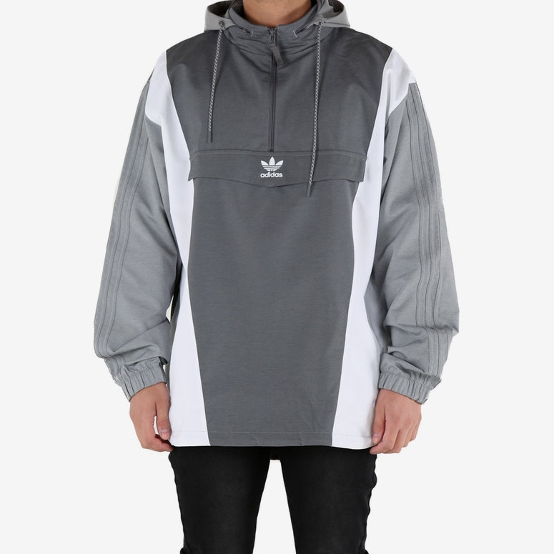 Adidas Originals Blocked Anorak Grey/Dark Grey