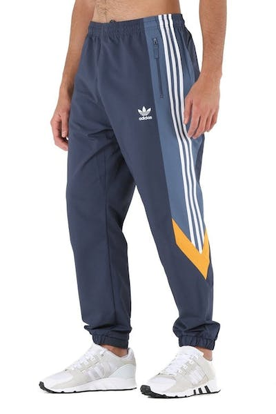 33b4ecbdf9f9 Adidas Originals Blocked Nova Wind Pant Dark Blue Mustard