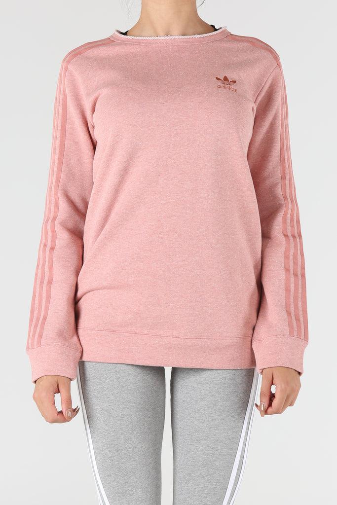 adidas pink sweater