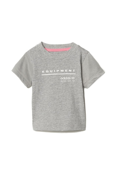 Adidas Infant EQT Tee Grey/White
