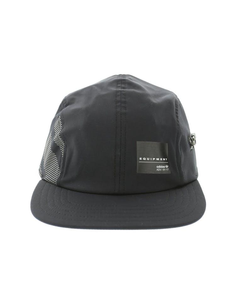 d74203363ed Adidas Originals Zip EQT Strapback Black White – Culture Kings