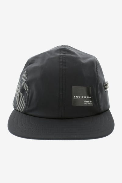 59d33f634a1 Adidas Originals Zip EQT Strapback Black White
