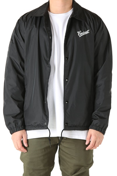 Carhartt Strike Coach Jacket Black/White