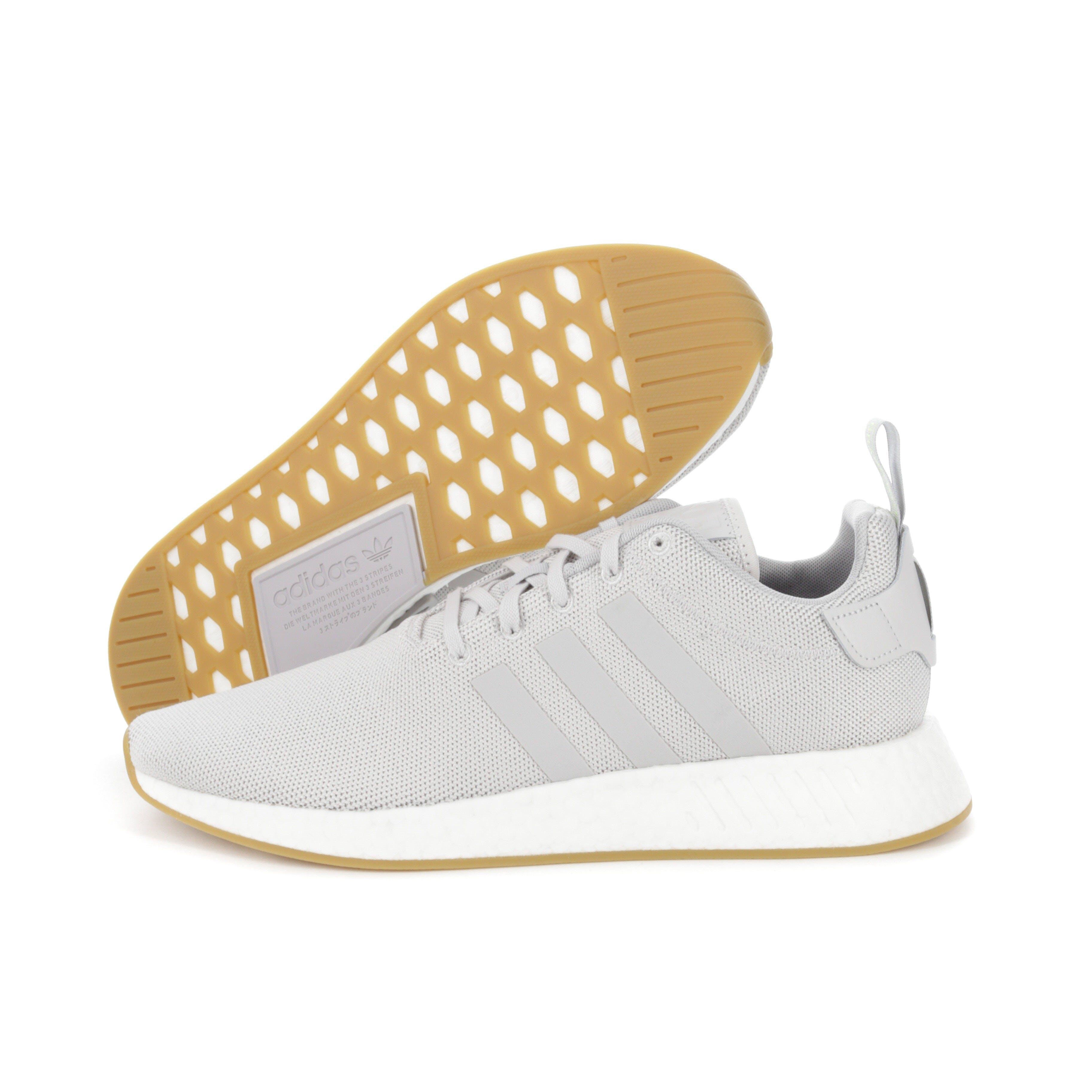 Adidas Nmd R2 Grey White Gum Culture Kings