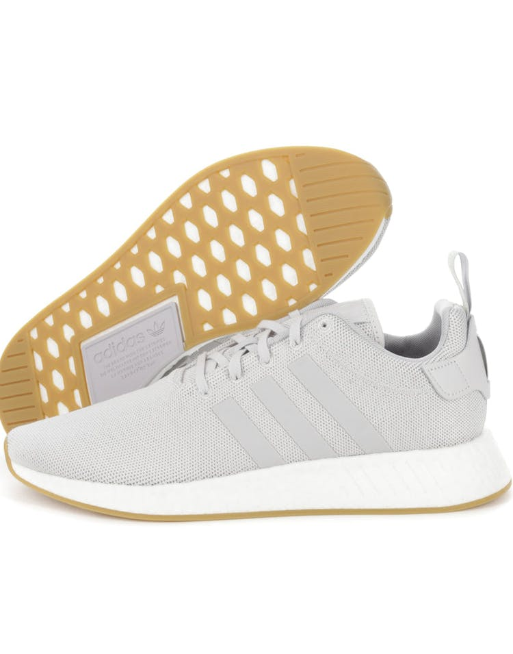newest 4b2bf a9ac8 Adidas NMD R2 Grey/White/Gum
