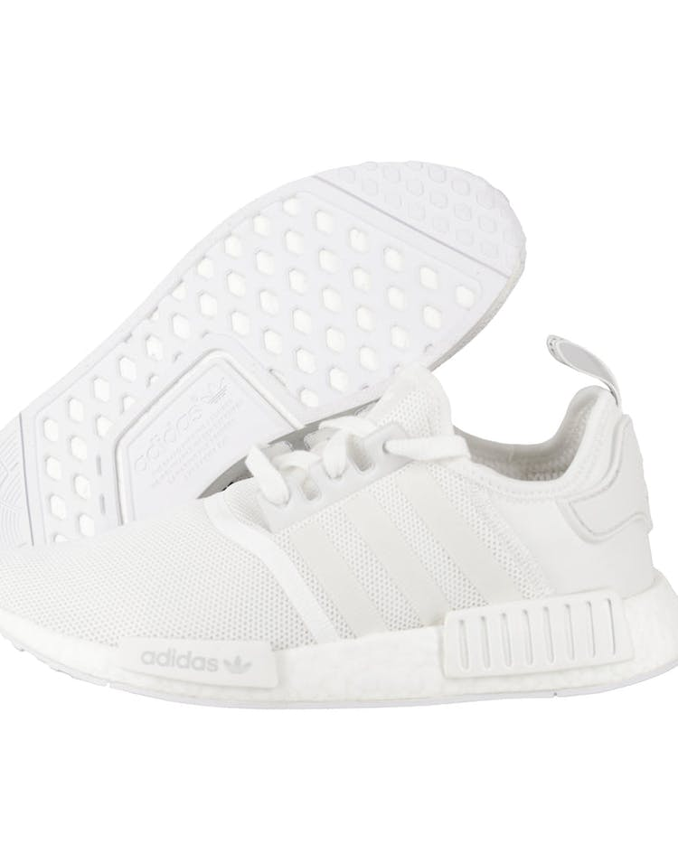 check out dcec3 4fe9d Adidas Originals NMD R1 White/White