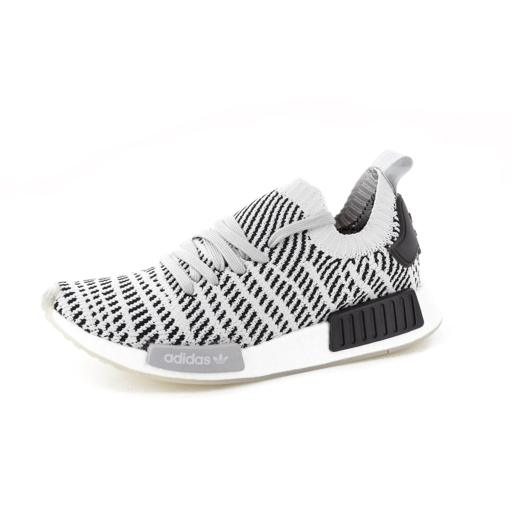 Adidas Originals Nmd R1 Stlt Primeknit Grey Black White Cq2387