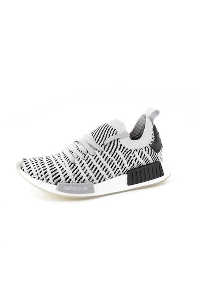 Adidas Originals NMD R1 STLT Primeknit Grey/Black/White