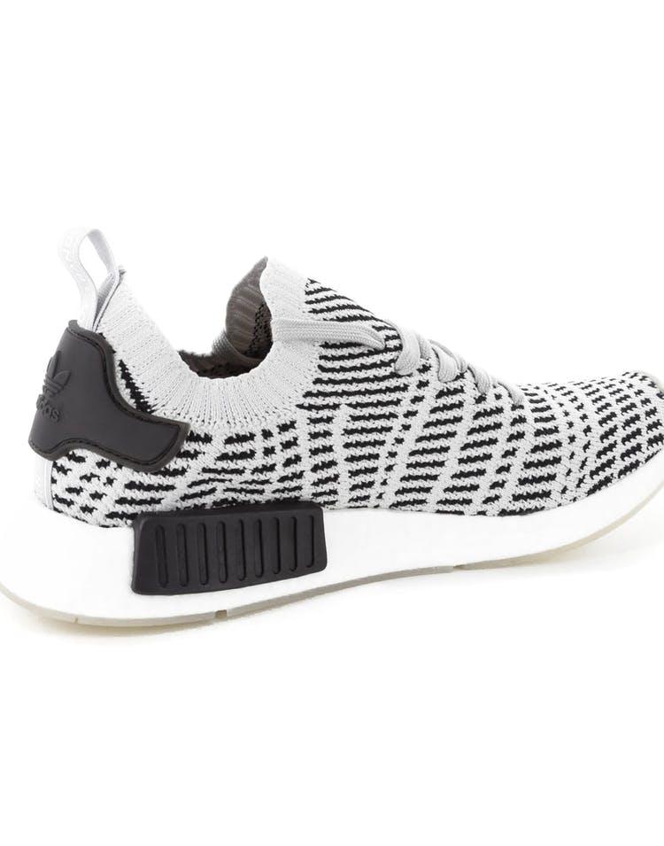 cheap for discount 66a09 35f92 Adidas Originals NMD R1 STLT Primeknit Grey/Black/White