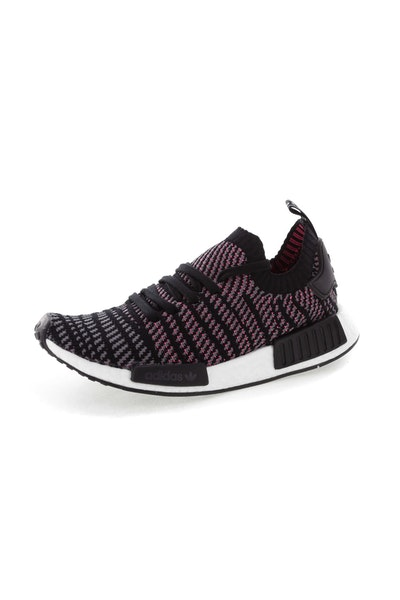 Adidas Originals NMD R1 STLT Primeknit Black/Multi-Coloured