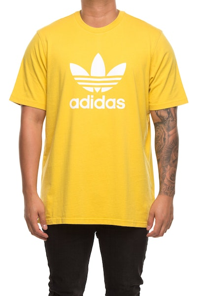 Adidas Originals Trefoil T-Shirt Yellow