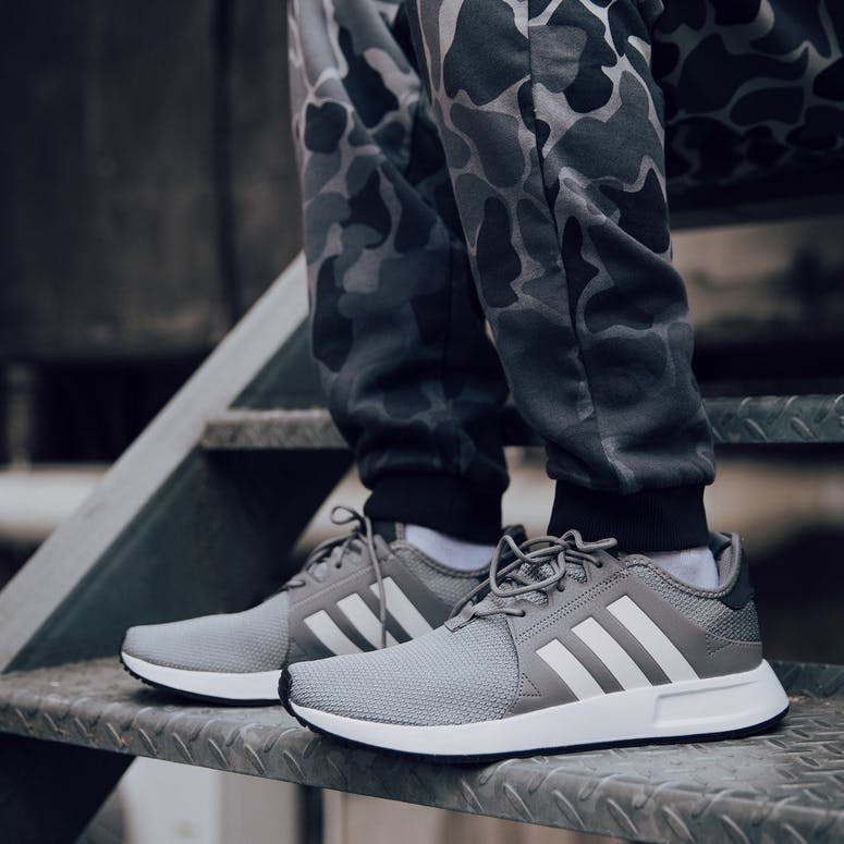 outlet store 62f3f 62891 Adidas Originals X PLR Grey White Charcoal