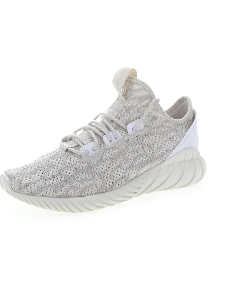on sale fd897 d45b4 Adidas Originals Tubular Doom Sock Primeknit Cream/White