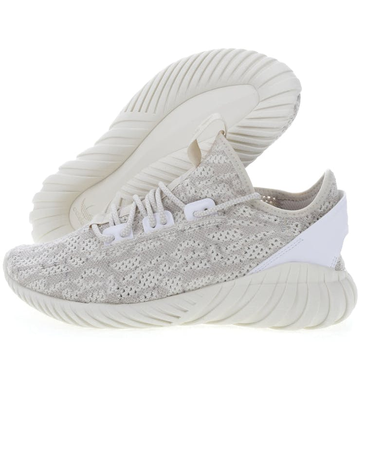 on sale 91193 386a7 Adidas Originals Tubular Doom Sock Primeknit Cream/White