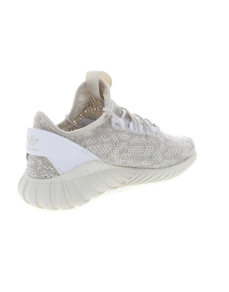 on sale 74aa9 6ea2f Adidas Originals Tubular Doom Sock Primeknit Cream/White