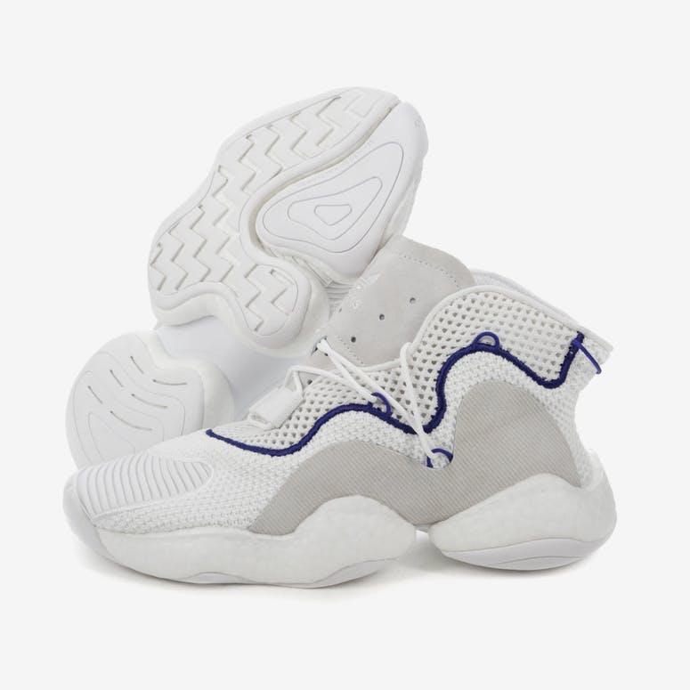 Adidas Originals Crazy BYW LVL 1 White White  21a754e48