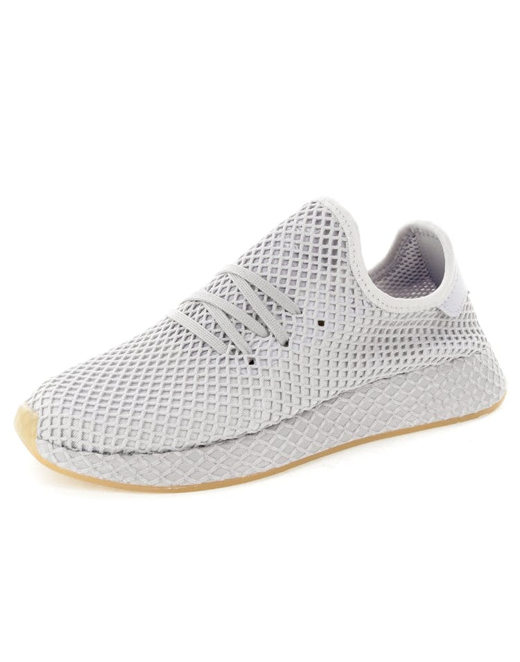 f28026562f2bd Adidas Originals Deerupt Runner Grey Gum