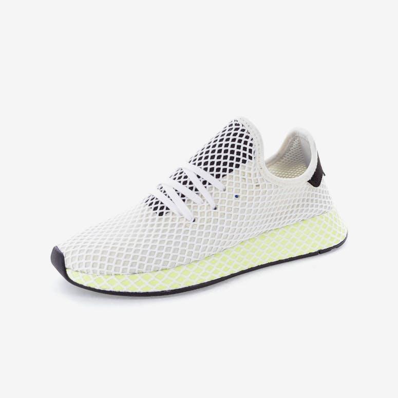 c4ca5d4a13f Adidas Originals Deerupt Runner White Black