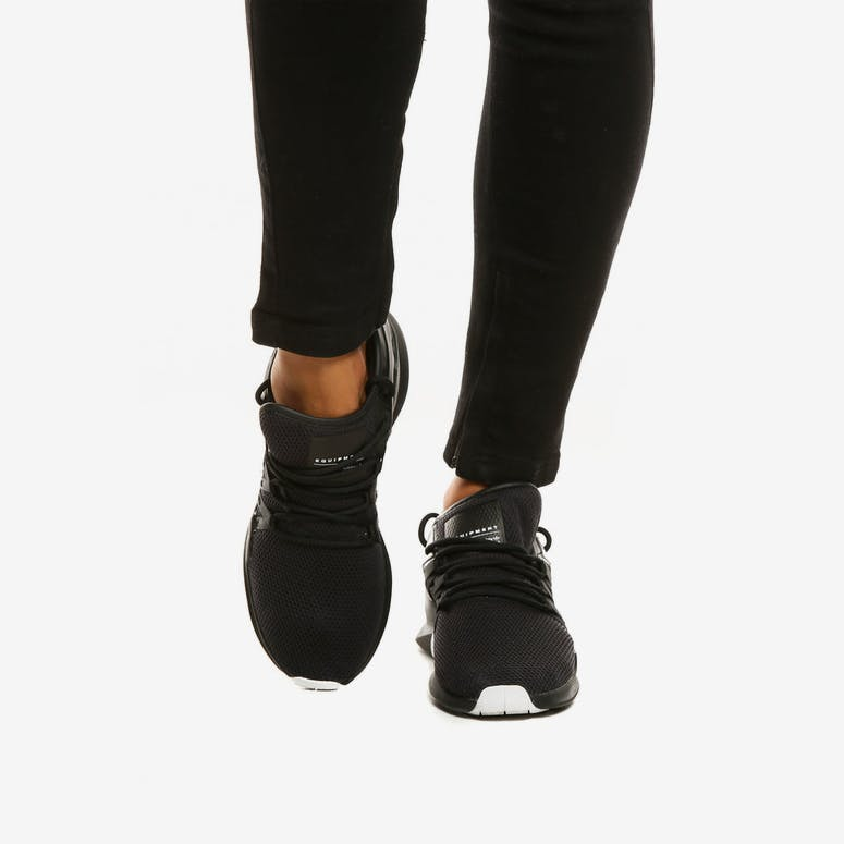 sports shoes 3678a 2f304 Adidas Originals Womens EQT Racing ADV BlackWhite