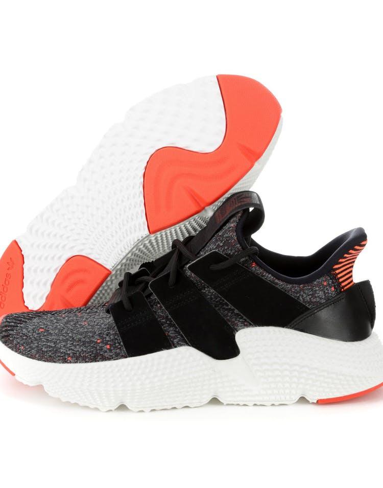 timeless design 8eb3d baaaa Adidas Originals Prophere Black White Red