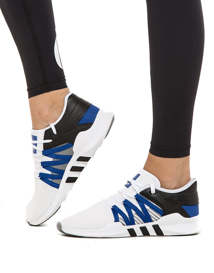 check out 44058 3d5af Adidas Originals Women's EQT Racing ADV White/Blue/Black