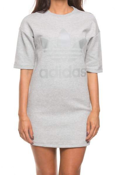 ADIDAS WOMENS DRESS GREY HEATHER