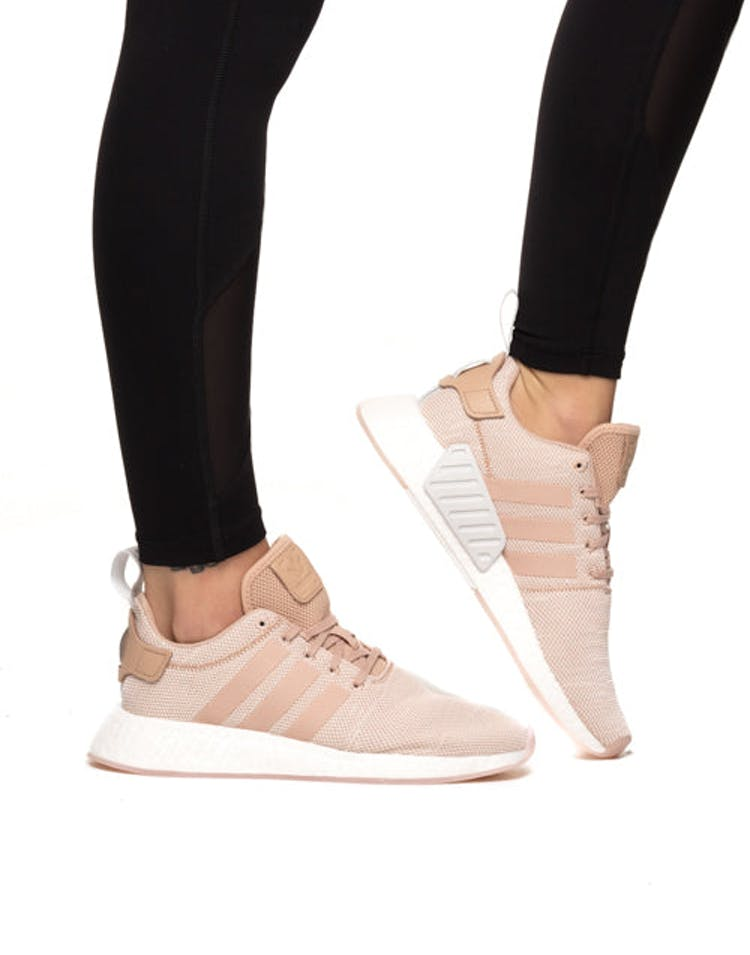 58e273174cc8d Adidas Originals Women s NMD R2 Pink White – Culture Kings