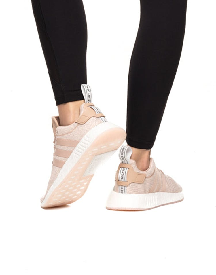 58e273174cc8d Adidas Originals Women s NMD R2 Pink White – Culture Kings