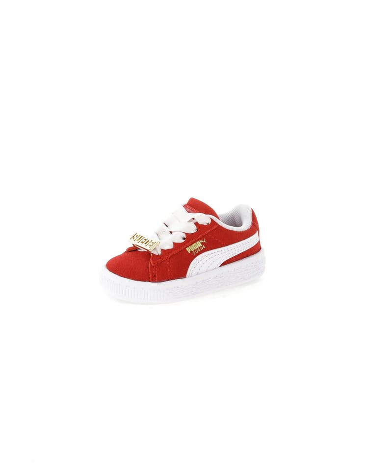 best service 6bf35 9a93f Puma Suede Classic BBoy Fabulous Infant Red/White