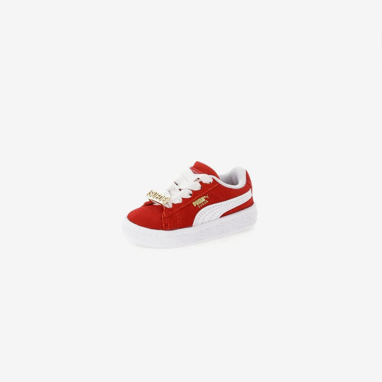 f7389f7a521 Puma Suede Classic BBoy Fabulous Infant Red White