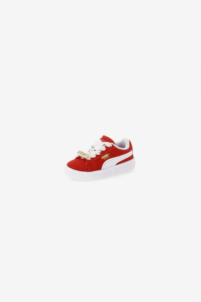 Puma Suede Classic BBoy Fabulous Infant Red/White