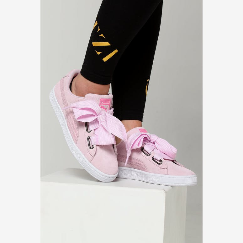 Puma Women s Suede Heart Street 2 Pink White – Culture Kings 29c512322