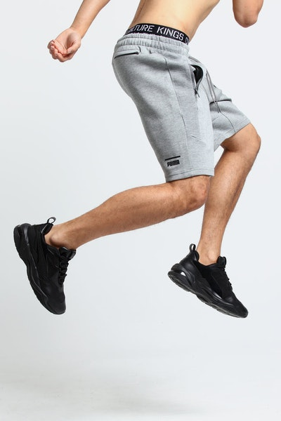 Puma Pace Shorts Grey Heather