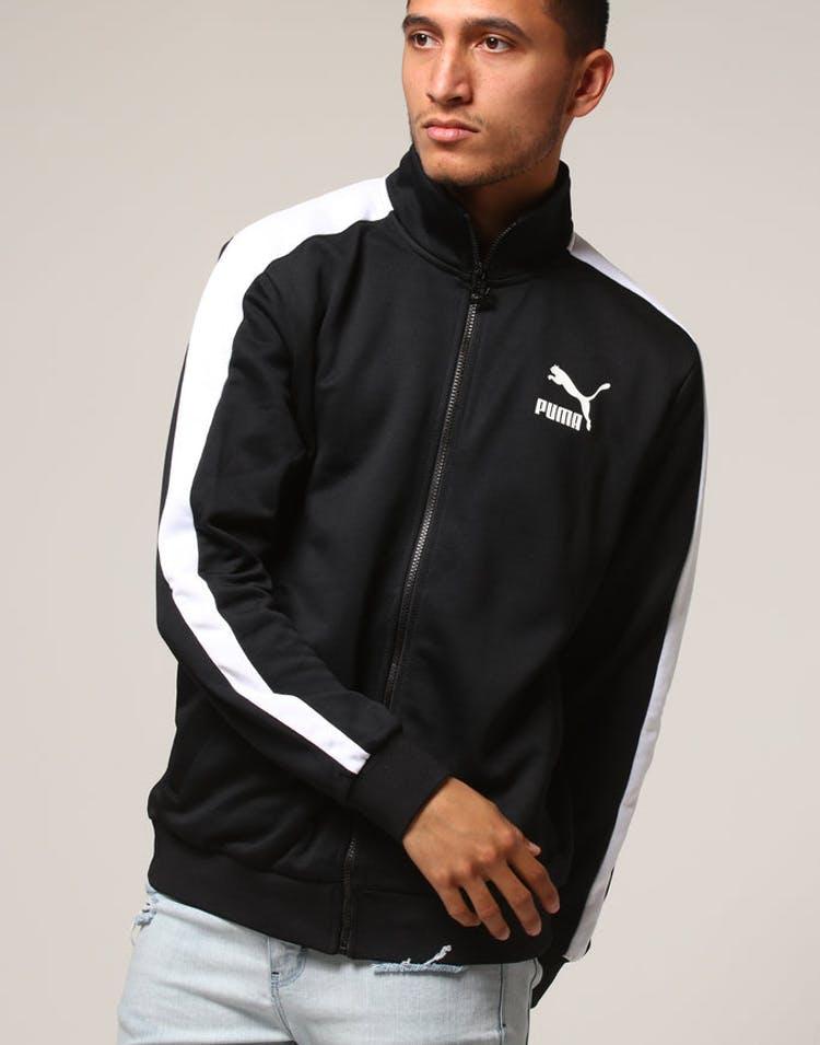 fec55a99 Puma Classic T7 Track Jacket Black/White