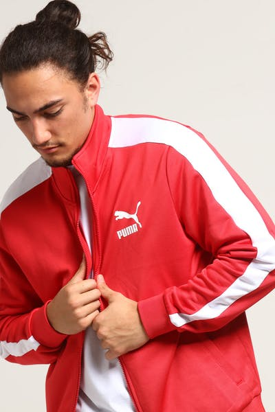 Puma Classics T7 Track Jacket Red/White