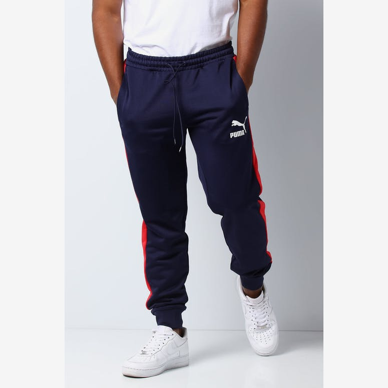 e20b5da68 Puma Classics T7 Track Pants Navy – Culture Kings