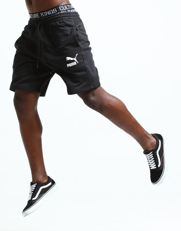 cdca318d02b Puma Classics Logo Shorts Black – Culture Kings