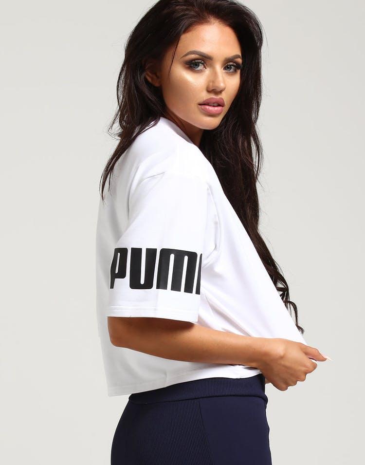 ce5abfc45d Puma Women's Modern Sport Sweat Tee White