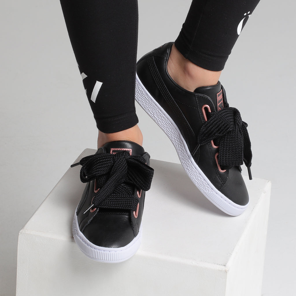 BASKET HEART Trainers Puma blackrose gold from category