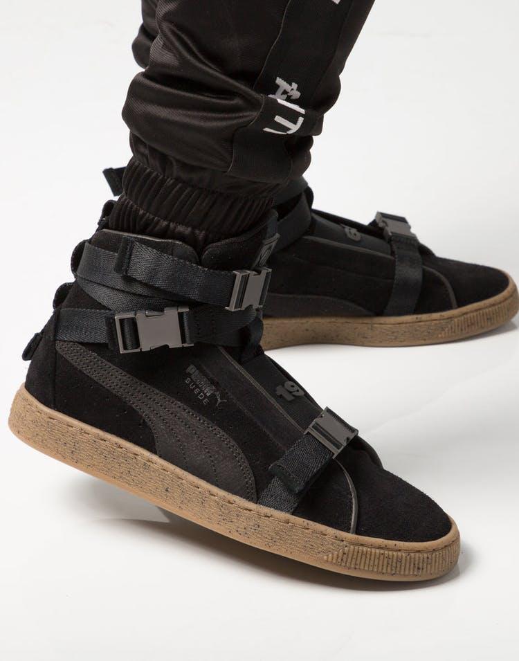 sale retailer 7557d f48ae Puma Suede X The Weeknd Black