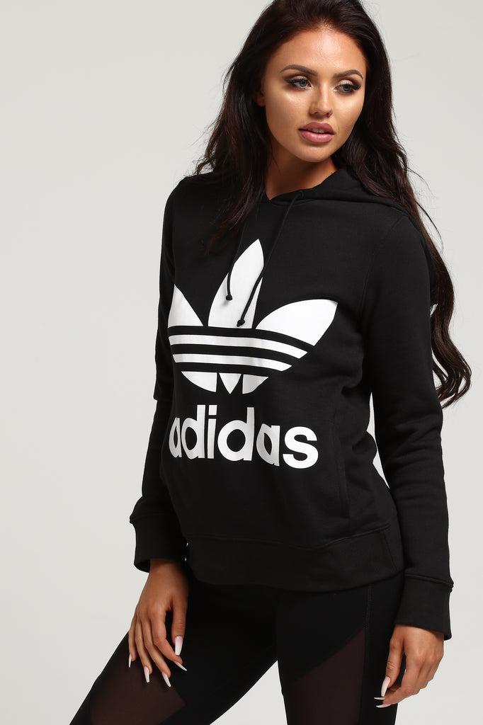 Adidas Women's Trefoil Hoodie Black