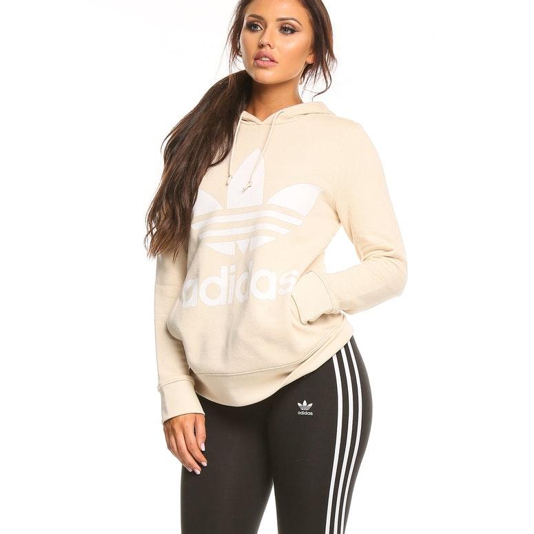 91edfcf7cfad Adidas Originals Women s Trefoil Hoodie Linen