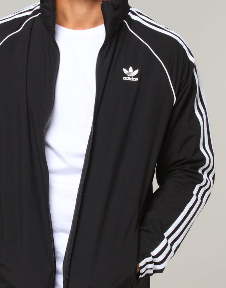 ad2c8c451fe5 Adidas SST Windbreaker Black – Culture Kings