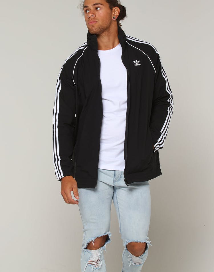 1b90129a5c Adidas SST Windbreaker Black