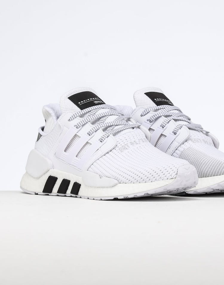 wholesale dealer aa182 eaac2 Adidas EQT Support EQT Support 91/18 White/White/Black