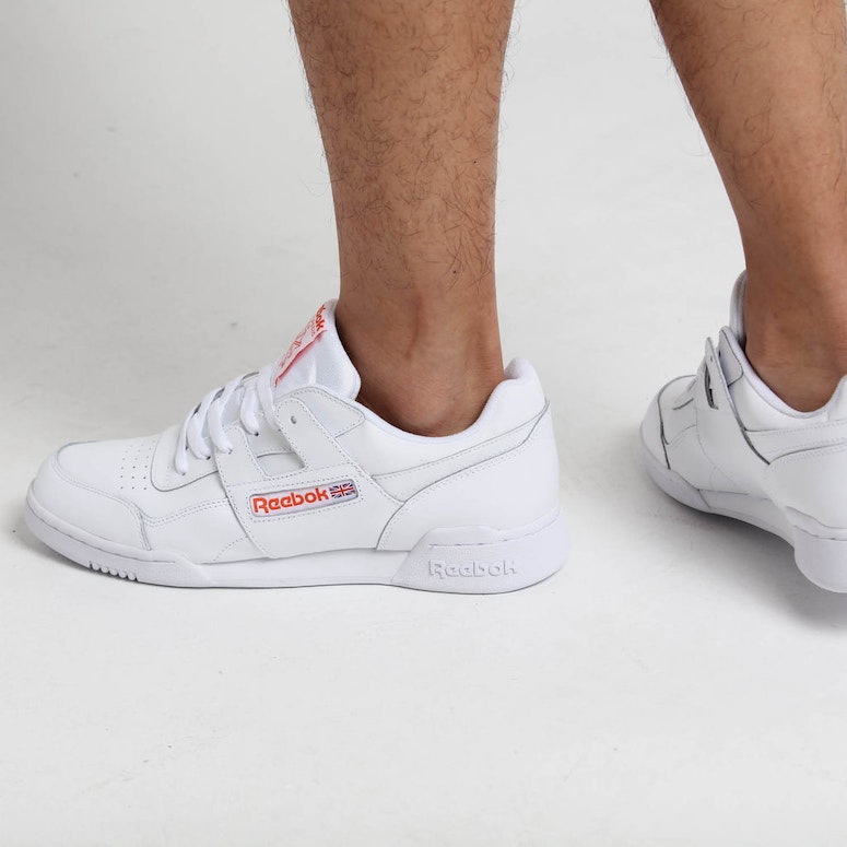 Reebok Workout Plus MU White/Orange