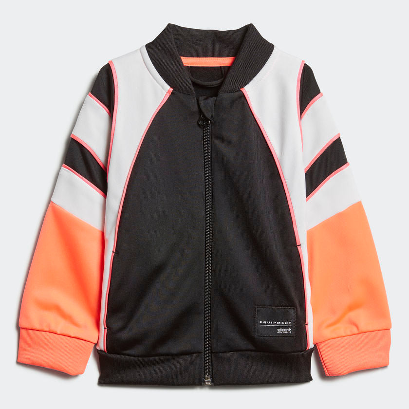 SST Track Suit Orange L Kids | Tracksuit, Adidas jacket