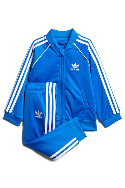 fd348bdd0d3 Kids. Adidas Originals SST Track Suit Blue